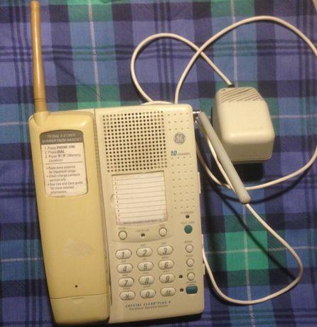 Telefon stacjonarny z przenośną słuchawką