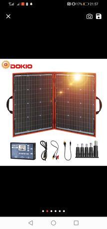 Painel solar de 110 watts dobrável