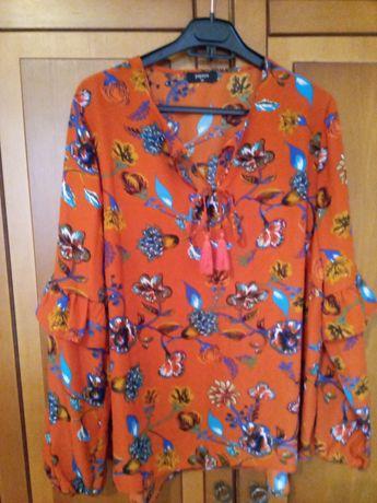 Красивая блуза 56р