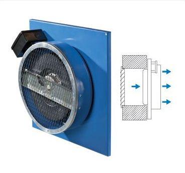 Вентилятор Vents Вентс ВЦ-ПН 200 приточный настенный