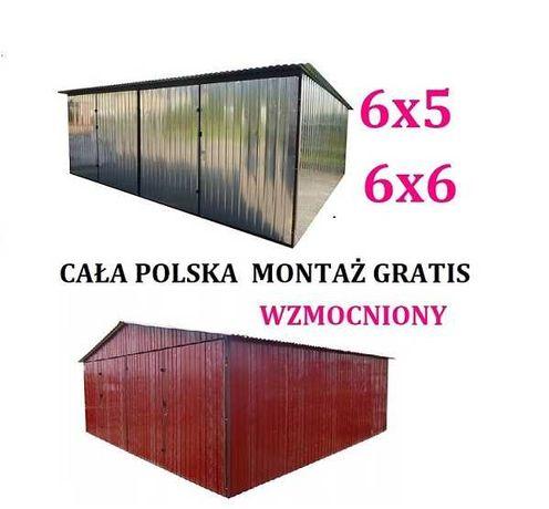 Garaż blaszany 6x5 6x6 8x5 8x6 Garaże blaszane Blaszak Cała Polska