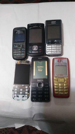НОКИА-80,202,3230,1208,1112,ZTE-v809,Алкатель-2007d