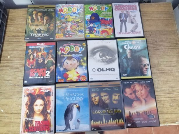 Dvds diversos filmes