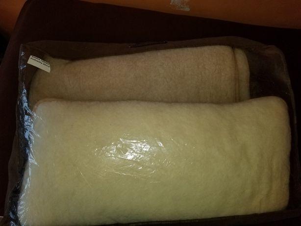 Koldra i poduszka wełniana