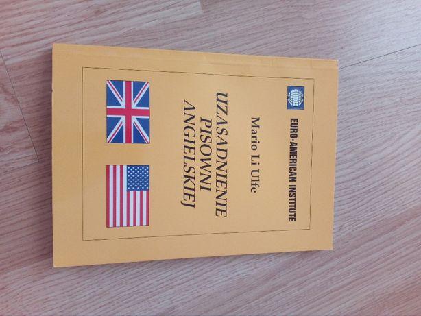 Książka Uzasadnienie Pisowni Angielskiej