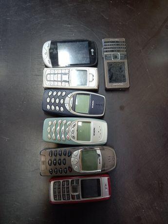Nokia 3310,3410,6210,6230i zestaw telefonów