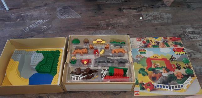 2668 lego duplo коллекционный лот с 3д пластиной зоопарк животные афр