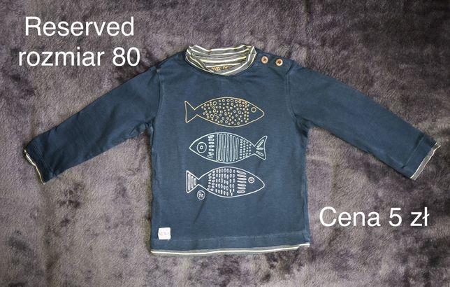 Zara koszulka polo tshirt koszulki H&M bluzka bluzki rozmiar 80/86