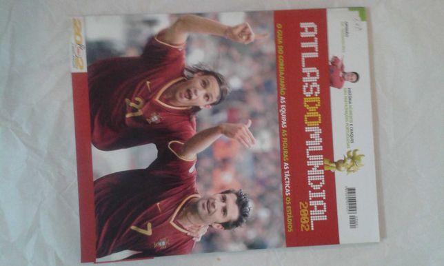 Atlas do Mundial 2002 - Livro do Benfica 2000 - Anuário F1 2000