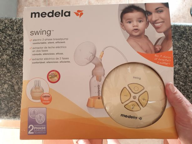 Bomba de leite materno Medela + 2 biberões Medela