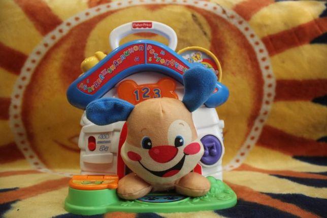 Интерактивная игрушка fisher price щенок