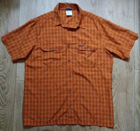 L/XL Jack Wolfskin мужская рубашка