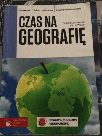 Czas na geografię podrecznik plus cwiczenia