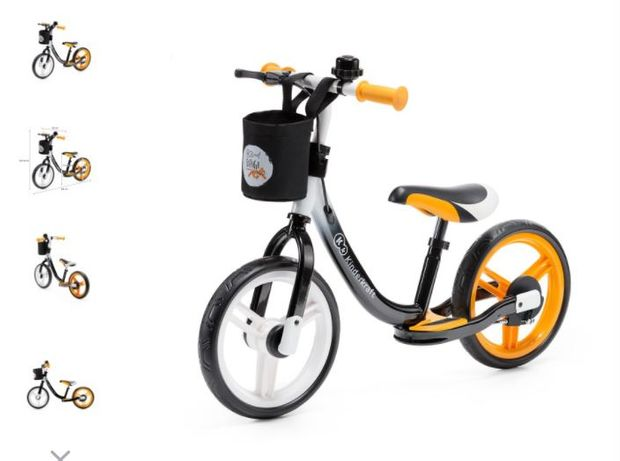 Nowy rowerek biegowy,biegówka z podnóżkiem dla dzieci od 2 lat