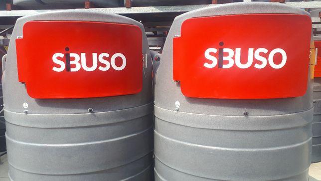 Nowość ! Zbiornik do paliwa dwupłaszczowy SIBUSO 1500L, Promocja !!!