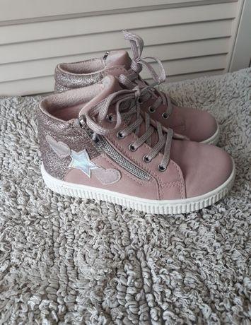 Buty różowe przejściowa