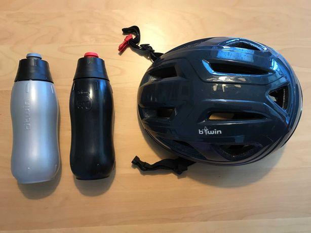 Conjunto de 1 capacete e 2 cantis