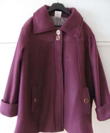 Стильное демисезонное , трапециевидное пальто Anne De Lancay, р 56