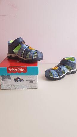 Sandałki chłopięce r.21 Fisher Price