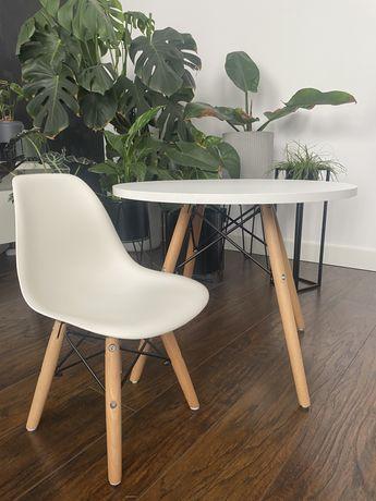 Stolik + krzesło dla dziecka styl skandynawski biurko