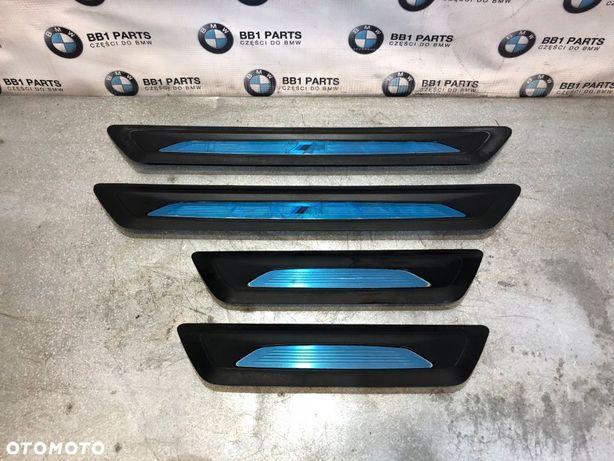 BMW F30 F31 F34 LISTWY PROGOWE WEWNĘTRZNE M-PAKIET