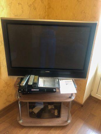 Плазменный телевизор Toshiba 42WPE + DVD проигрователь DNK 799
