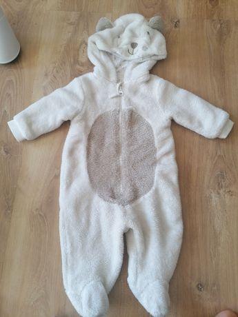 Pajacyk niemowlęcy jesienno-zimowy 68