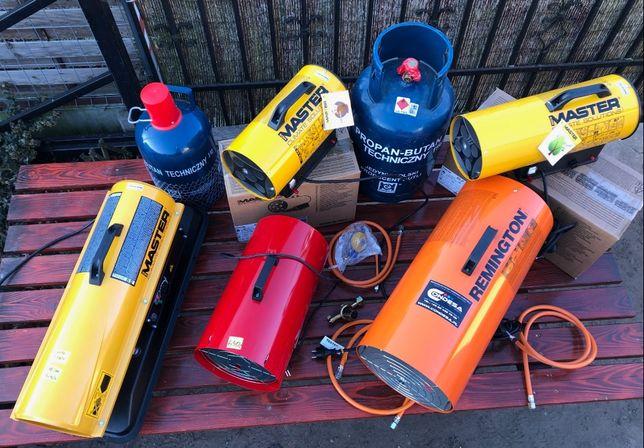 NAGRZEWNICE gazowe olejowe MASTER palniki gazowe