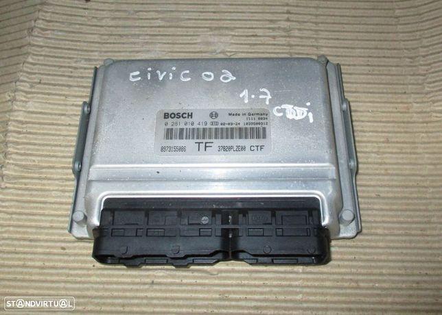 Centralina para Honda Civic 1.7 ctdi (2002) 0281010419 8973155086 37820PLZE00