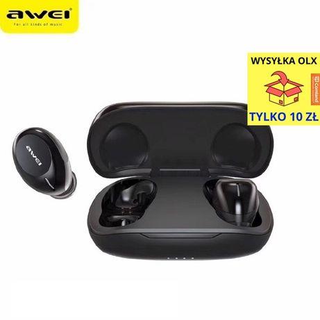 AWEI Słuchawki Bluetooth 5.0 T20 TWS + stacja dokująca Czarny