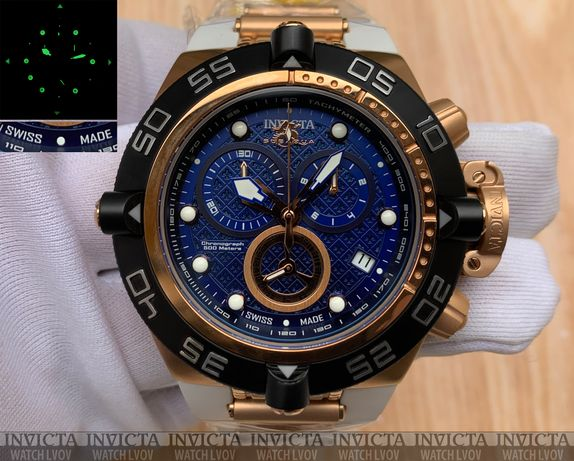 Швейцарские часы Invicta 16147 Subaqua Noma IV White Swiss Made