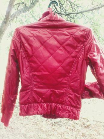 Куртка осень-весна, размер S, красная