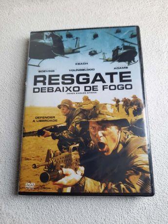 Resgate Debaixo de Fogo (DVD) (Selado)