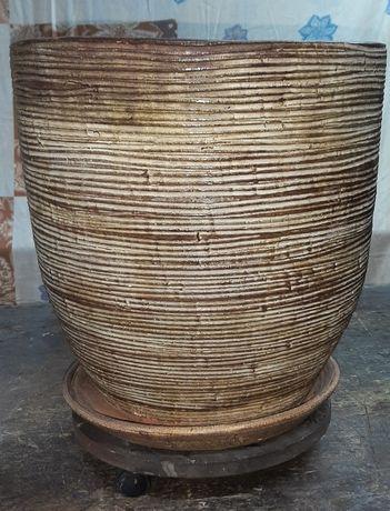 Donica ceramiczna duża