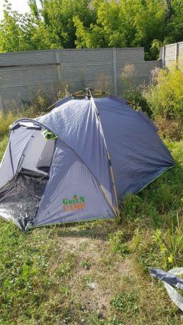 Автоматическая палатка четырехместная GreenCamp 900