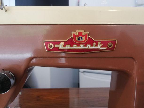 Stara maszyna do szycia Łucznik 414 Antyk vintage art deco