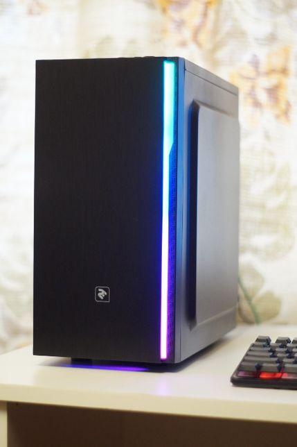 Бюджетный Игровой ПК s1151 Intel 4 лог. ядра / 8GB DDR4 / RX550 2GB