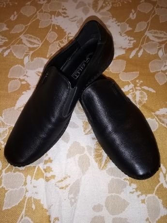 Лоферы мужские кожаные