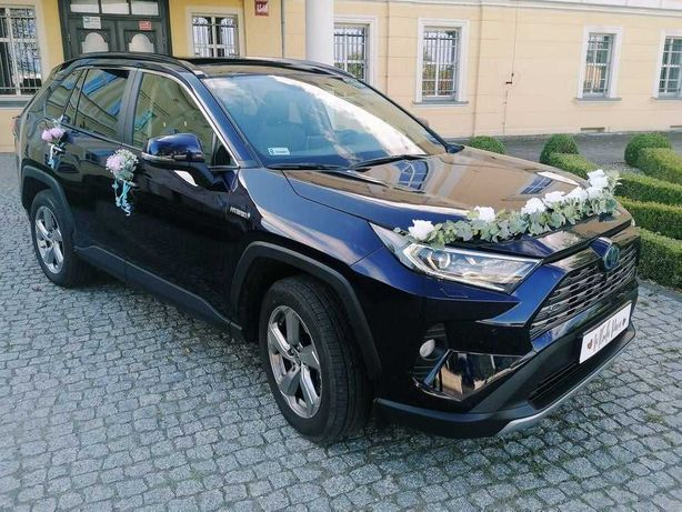Auto Samochód do ślubu - Toyota RAV4 HYBRID Najniższa cena na rynku!
