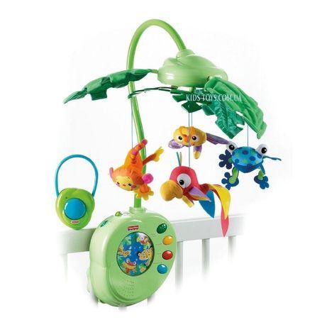 Детский музыкальный мобиль модуль «Тропический лес» Fisher price
