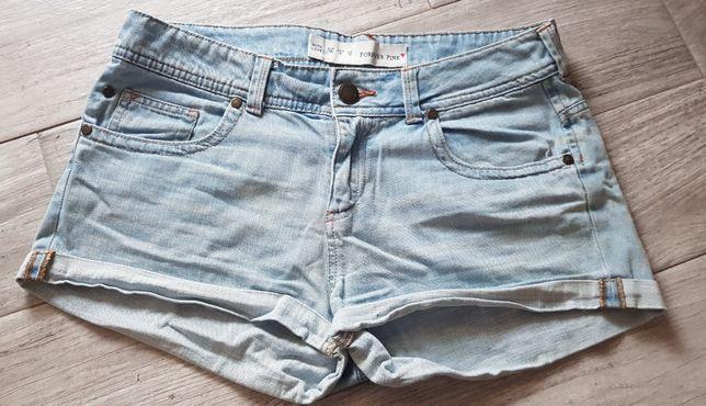Spodenki jeansowe 38/M