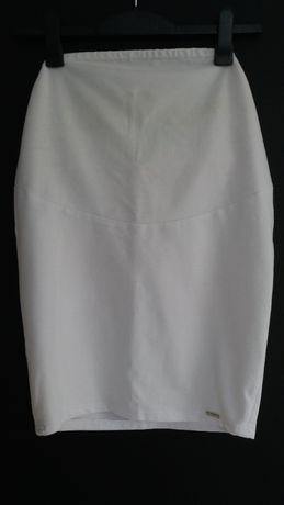 Spódniczka ciążowa biała