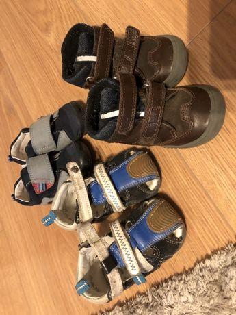 Buty bartek zimowe oraz sandałki