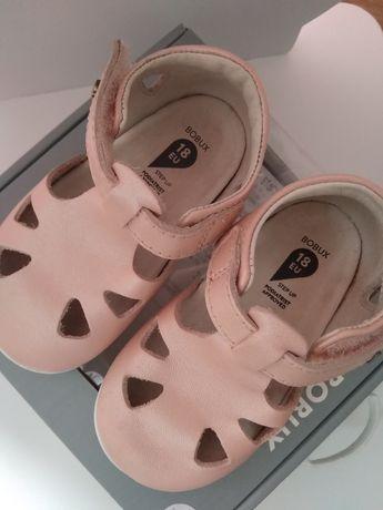 Sandałki Bobux 18 dziewczynka jak nowe