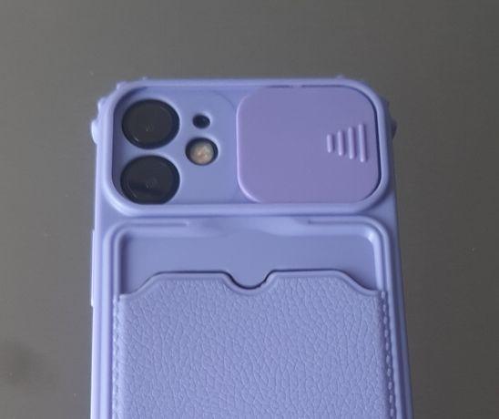 Capa iPhone 12 mini com proteção da lente - portes incluídos