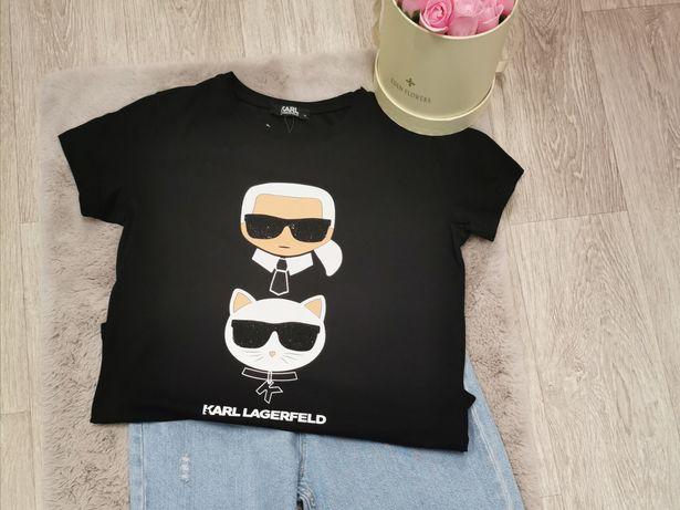 Koszulka damska Karl Lagerfeld Premium S