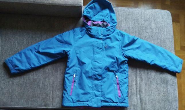 Kurtka na śnieg narciarska 140 dziewczynka_Dare2B