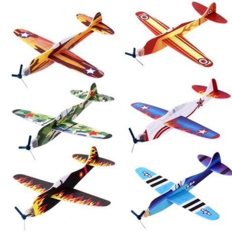 Samoloty styropianowe
