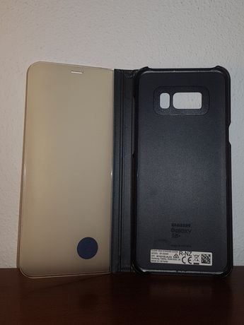 Capa Original Clear View Samsung S8+