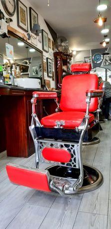 3 Cadeiras de barbeiro - Pessoa - Restauradas